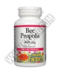 NATURAL FACTORS Bee Propolis 500mg / 90caps.