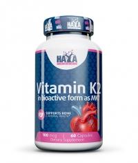 HAYA LABS Vitamin K2-Mk7 100mcg / 60 Caps