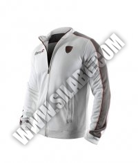 HAYABUSA FIGHTWEAR Track Jacket White / Grey