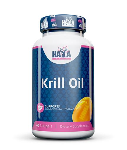 HAYA LABS Krill Oil 500mg / 60 Soft.