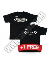 PROMO STACK MUSCLETECH T-shirt 1+1 FREE!