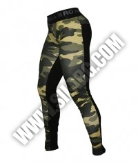 NEBBIA 802 Leggings Camo Combinated / camouflage