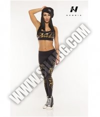 NEBBIA 810 Tights Supplex / gold