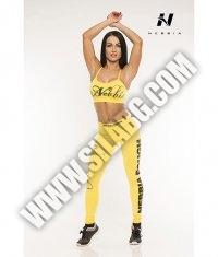 NEBBIA 812 Top Supplex Mini / yellow