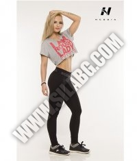 NEBBIA 837 El Pants Slim / black