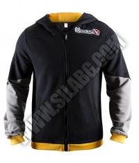 HAYABUSA FIGHTWEAR Wingback Hoodie Black / Grey / Yellow