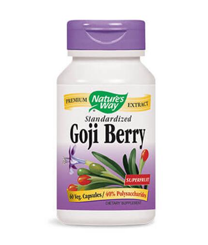 NATURES WAY GODJI BERRY 500 mg. - 60 caps.