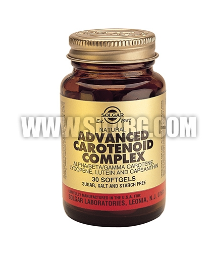 SOLGAR Advanced Carotenoid complex / 30 softgels