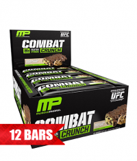 MUSCLE PHARM Combat Crunch Bars / 12x63g