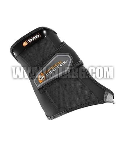 SHOCK DOCTOR Wrist Sleeve-Wrap Support / LEFT HAND