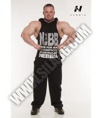 NEBBIA 974 HARD SINGLET HOOD / Black