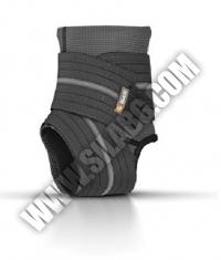 SHOCK DOCTOR Ankle Sleeve / Compression Wrap Support / BLACK