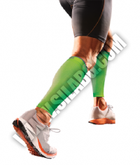 SHOCK DOCTOR SVR Recovery Compression Calf Sleeve / Green