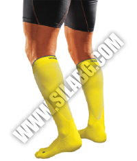 SHOCK DOCTOR SVR Recovery Compression Socks / Yellow