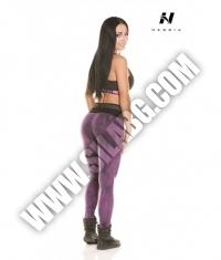 NEBBIA 836 Leginggs Batik / purple