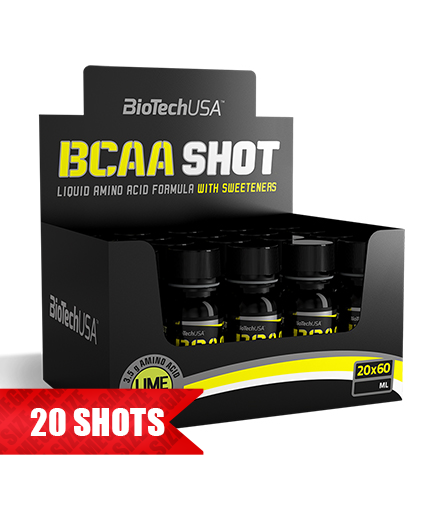 BIOTECH USA *** SHOT / 20x60ml.