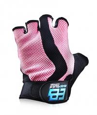 EVERBUILD Pro Ladies Gloves / Black - Pink