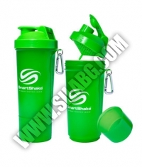 SMART SHAKE Slim Neon Green 500ml.