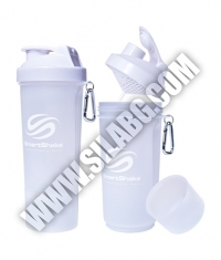 SMART SHAKE Slim Pure White 500ml.
