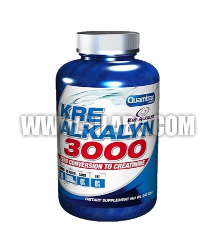 QUAMTRAX NUTRITION Kre-Alkalyn 3000 / 240 caps