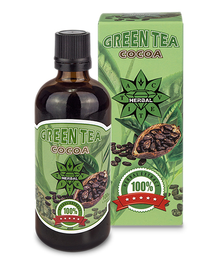 CVETITA HERBAL Green Tea with Cocoa