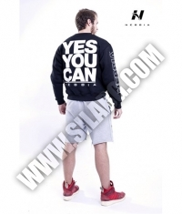 NEBBIA 992 Men's Sweatshirt / black