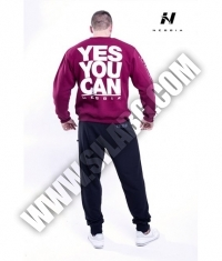 NEBBIA 992 Men's Sweatshirt /Bordeaux