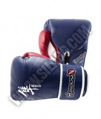 HAYABUSA FIGHTWEAR Ikusa 16oz Gloves / Blue/Red