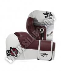 HAYABUSA FIGHTWEAR Tokushu 10oz Gloves White / Crimson