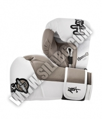 HAYABUSA FIGHTWEAR Tokushu 12oz Gloves White / Sand