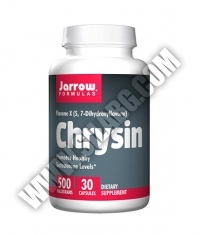 Jarrow Formulas Chrysin 500mg. / 30 Caps.