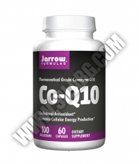 Jarrow Formulas Co-Q10 (Ubiquinone) 100mg / 60 Caps.