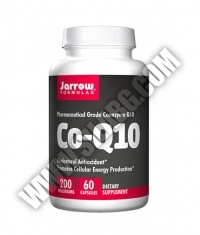 Jarrow Formulas Co-Q10 (Ubiquinone) 200mg / 60 Caps.