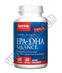 Jarrow Formulas EPA-DHA Balance® 600mg. / 60 Soft.