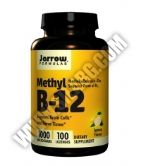 Jarrow Formulas Methyl B-12 1000mcg / 100 Lozenges
