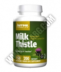 Jarrow Formulas Milk Thistle 150mg. / 200 Caps.