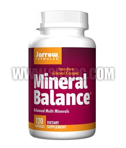 Jarrow Formulas Mineral Balance® / 120 Caps.