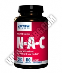 Jarrow Formulas NAC 500mg. / 100 Caps.