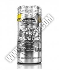 MUSCLETECH Platinum Test Booster / 60caps