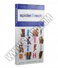 SPIDERTECH PRE-CUT ANKLE CLINIC PACK [10 PCS] (GENTLE)