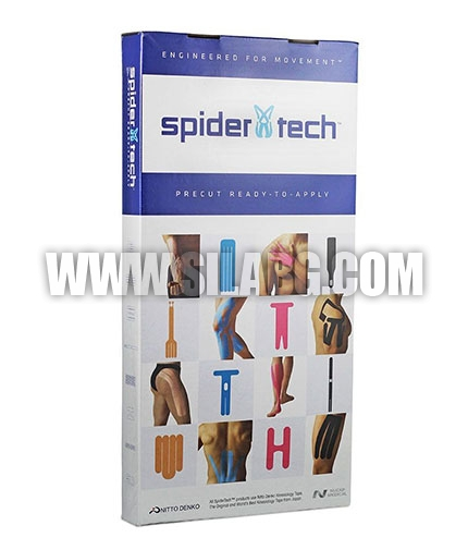 SPIDERTECH PRE-CUT CALF & ARCH CLINIC PACK [10 PCS] (GENTLE)