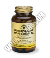 SOLGAR Glucosamine MSM Complex / 60 Tabs