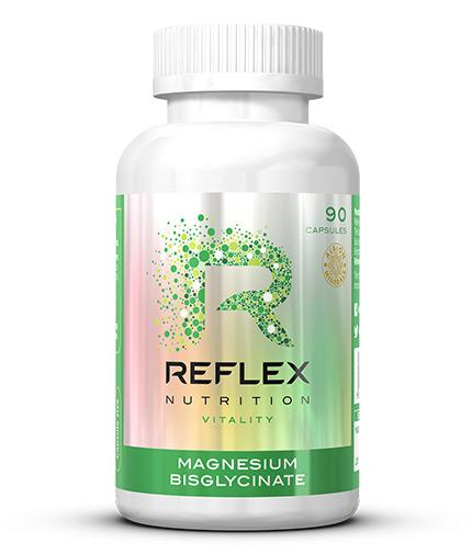 REFLEX Magnesium Bisglycinate 125mg / 90 Caps