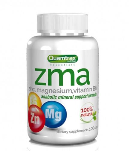 QUAMTRAX NUTRITION ZMA / 100 Caps