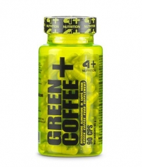 4+ NUTRITION Green Coffee+ / 90 Caps.