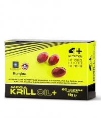 4+ NUTRITION Mega Krill Oil+ / 60 Soft.