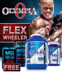 PROMO STACK MR. Olympia - Flex Wheeler's