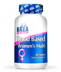 HAYA LABS Food Based Women's Multi / 60tabs.