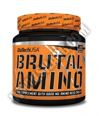 BRUTAL NUTRITION Amino / 250 Tabs.