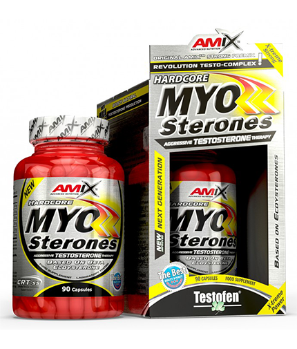 AMIX Myosterones / 90 Caps.